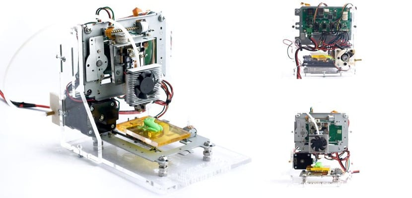Ewaste, una impresora 3D por menos de 60 dólares