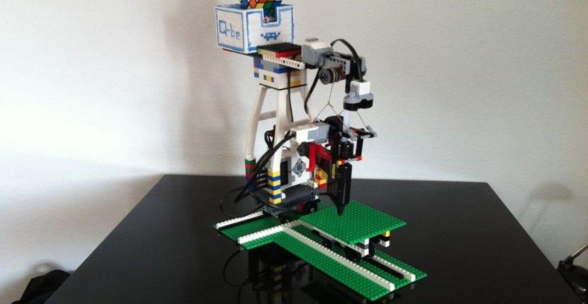 Imagen de la impresora de Lego 2.0