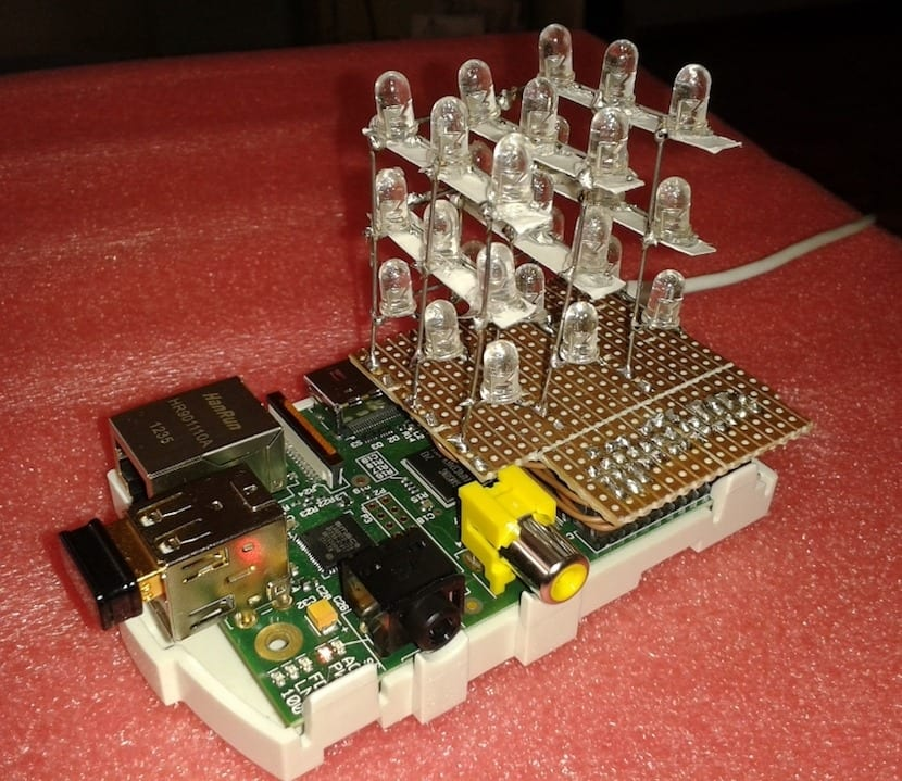 Cubo LED con Raspberry Pi