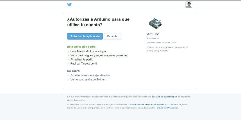 Token de Twitter