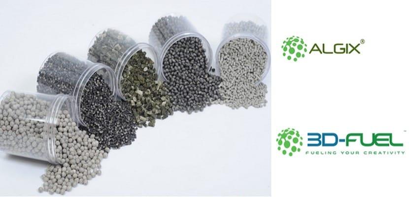 Crean un filamento de algas para impresoras 3D