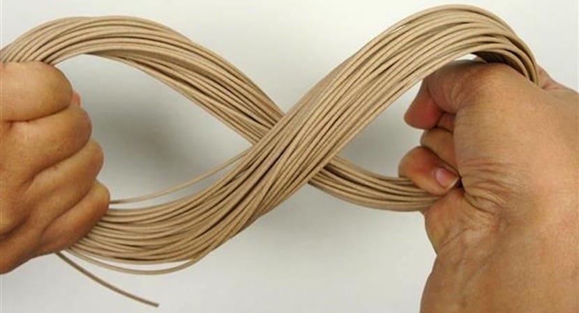 filamento de madera