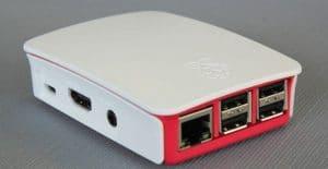 Carcasa Oficial de Raspberry Pi