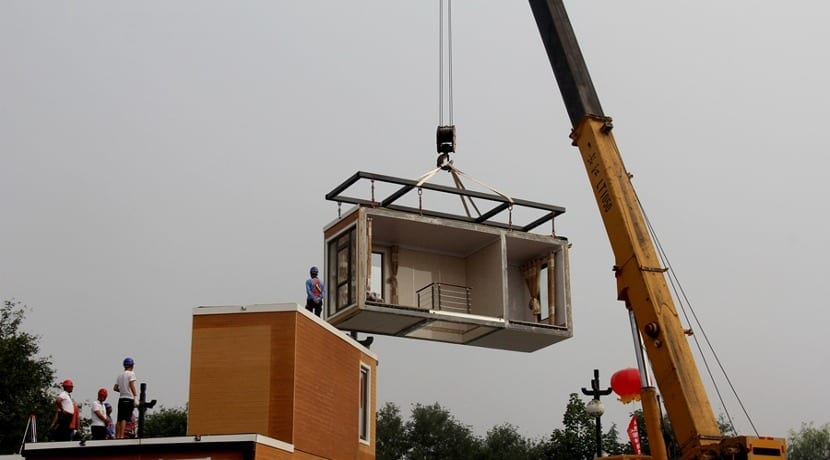 Zhouda Group ya imprime casas en China
