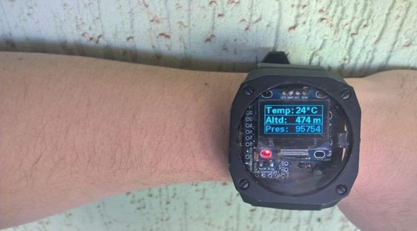 Crea tu smartwatch casero con Arduino Mini