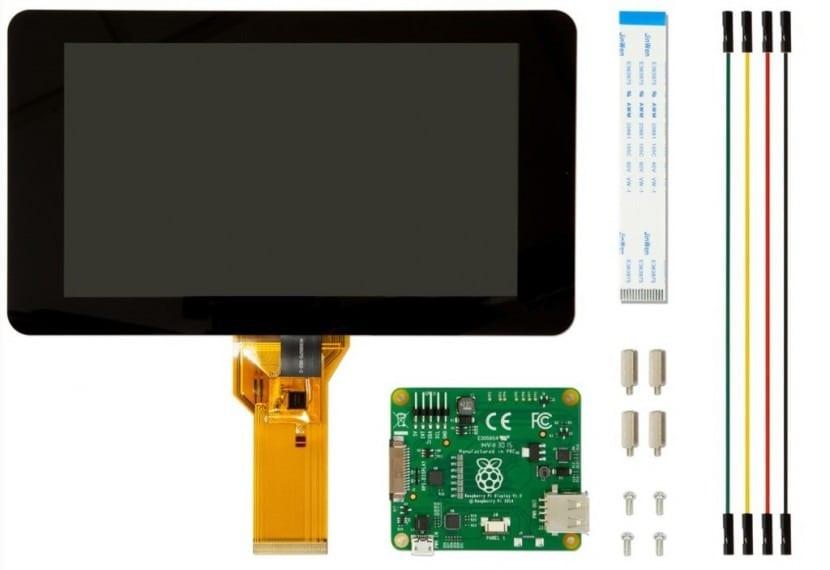 pantalla táctil para Raspberry Pi