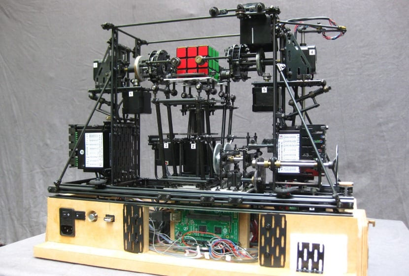 Máquina del cubo de rubik