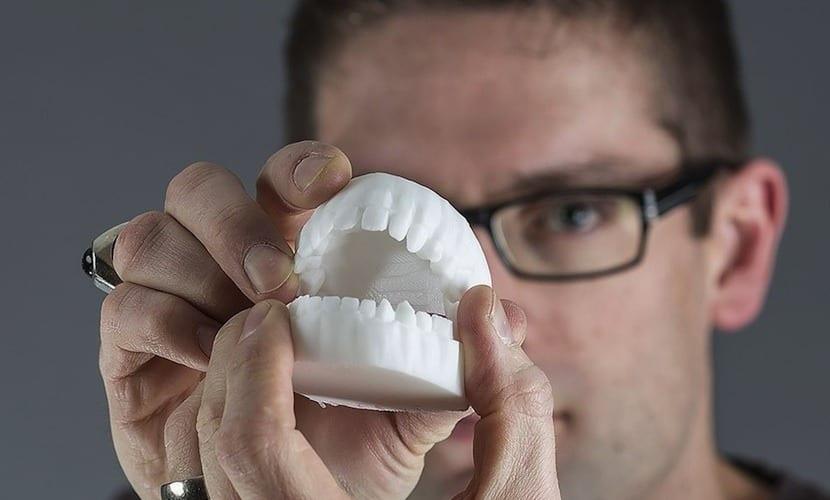 dientes impresos