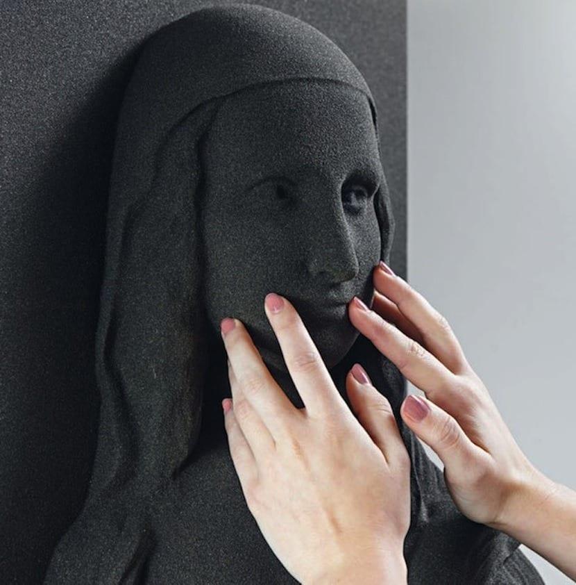 impresion 3D La Mona Lisa