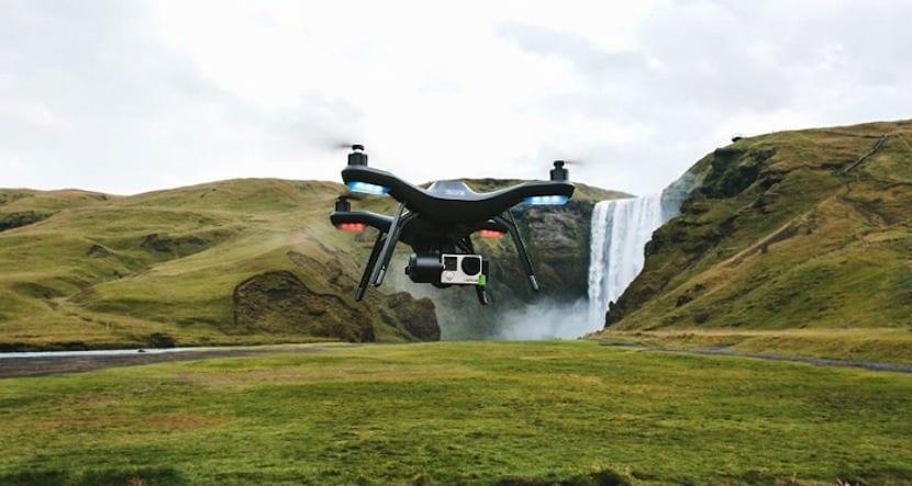 dron 3dr cámara Sony