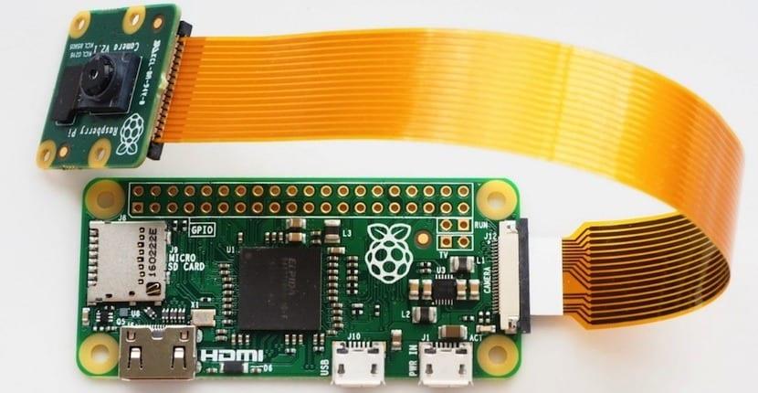 cámara Raspberry Pi Zero