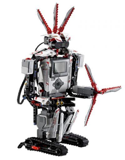 Imagen del robot resultante del kit de Lego MindStorms