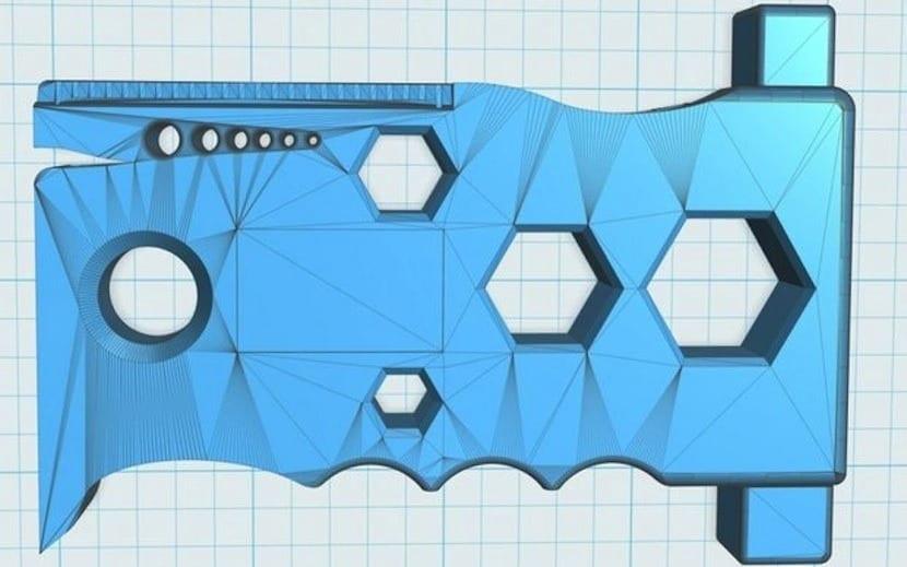 boceto 3D herramienta NASA