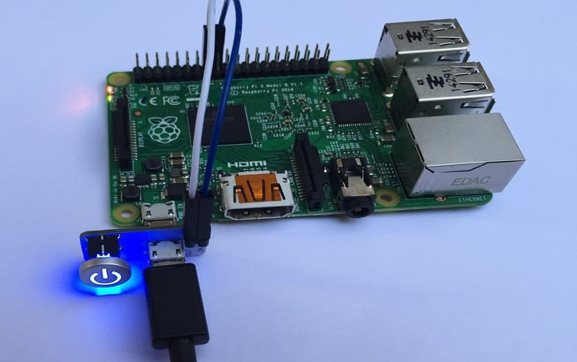 Botón de apagar Raspberry Pi