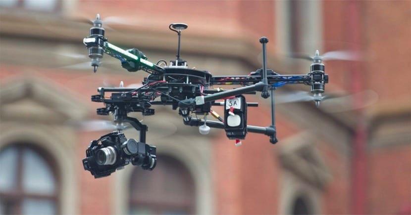 drones con radar DGT