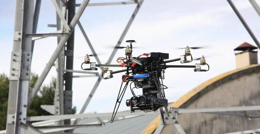 dron Unión Fenosa