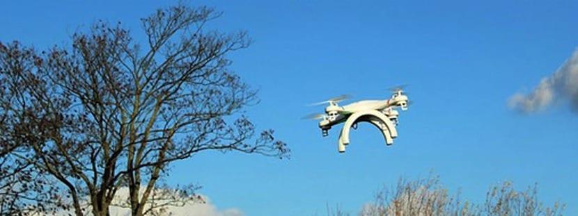 dron impreso en 3D