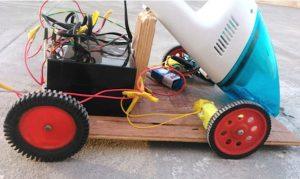 Roomba creado con Arduino