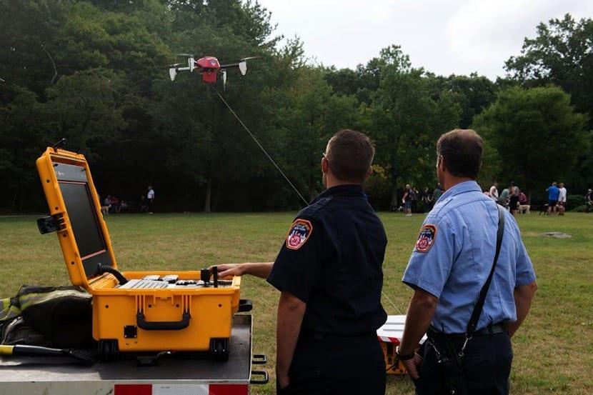 drones bomberos