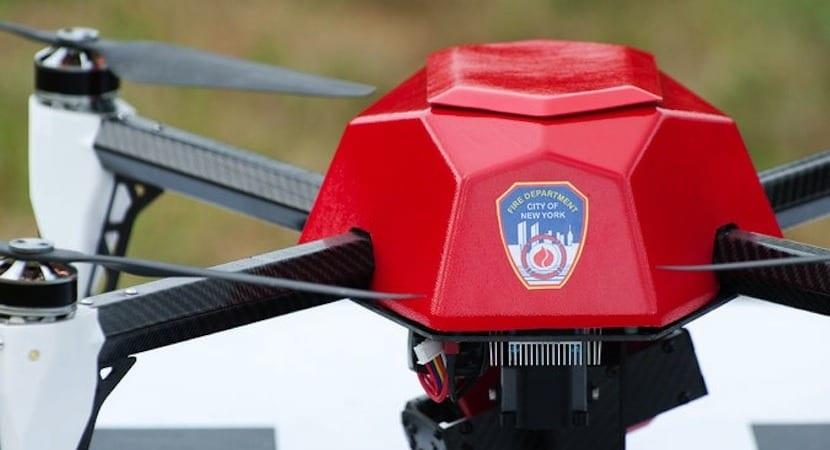 drones bomberos Nueva York