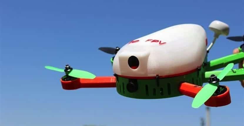 dron Universidad de Valencia