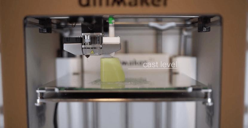 silicona en una impresora 3D