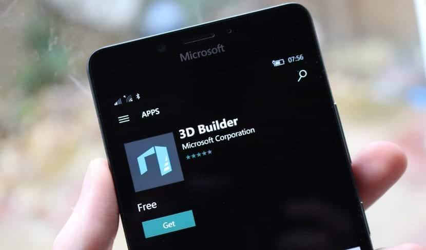 Windows Phone y 3D Builder