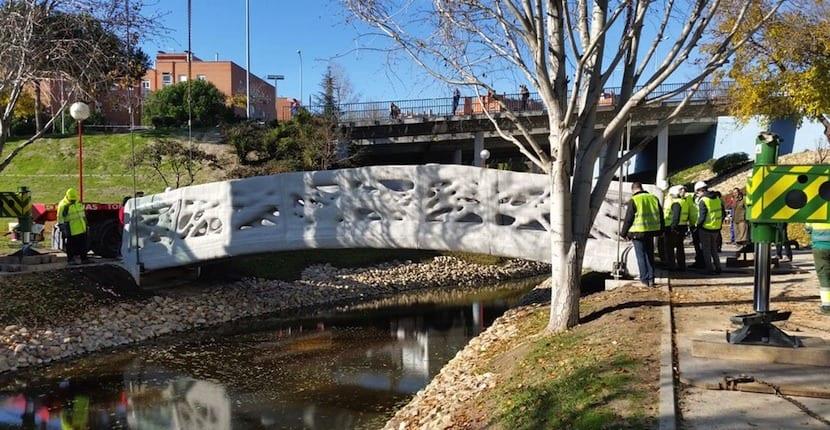 puente impreso Alcobendas