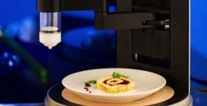 impresora 3D de comida