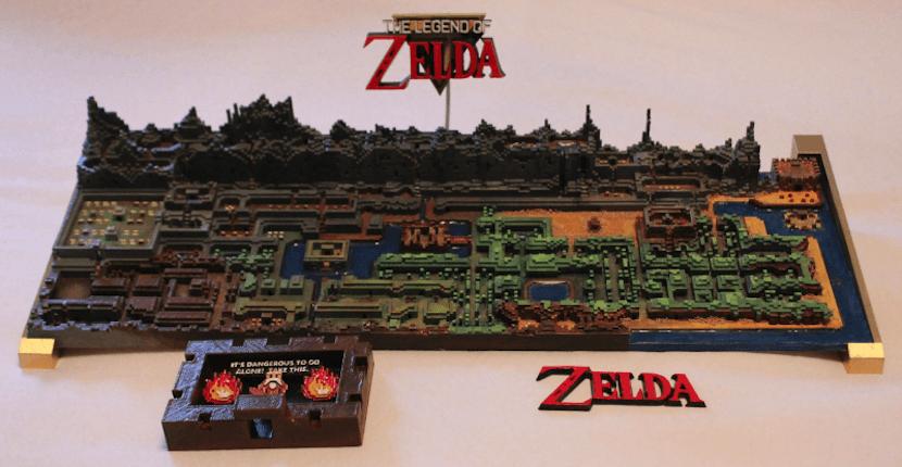 mapa Zelda