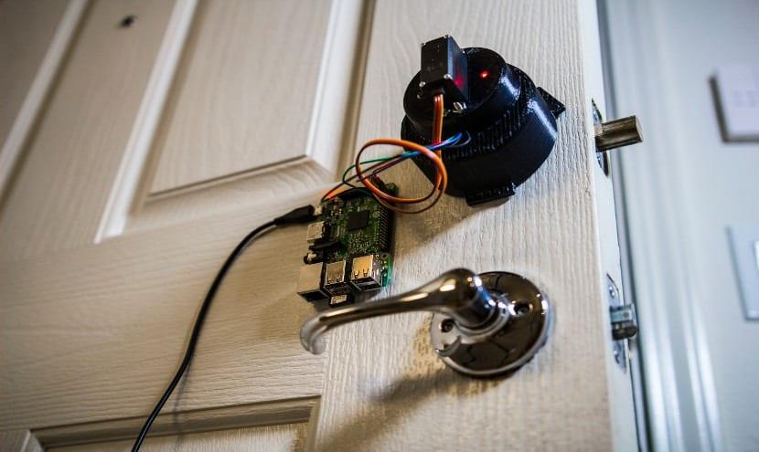 cerradura inteligente para una casa domótica