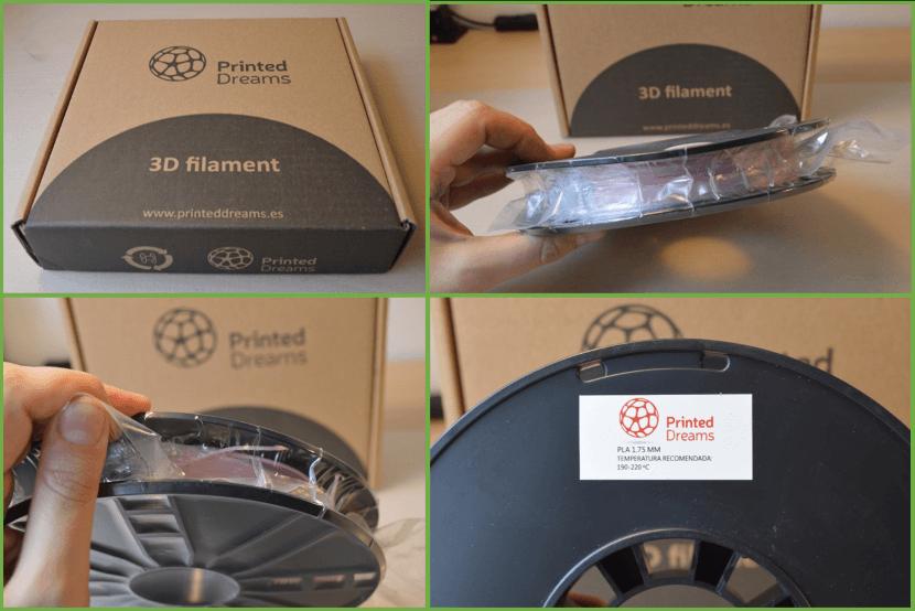 Unbox de Filamento PLA