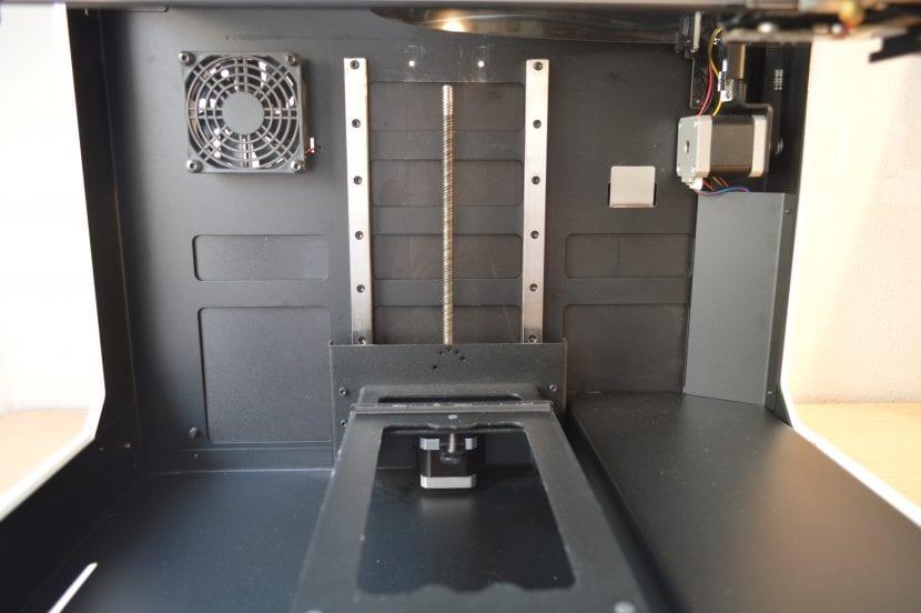 interior impresora