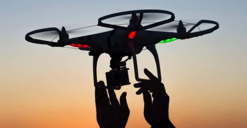 trabajar con drones