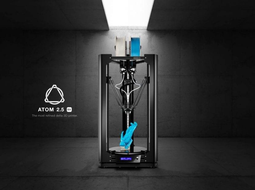 Impresora 3D ATOM 2.5EX