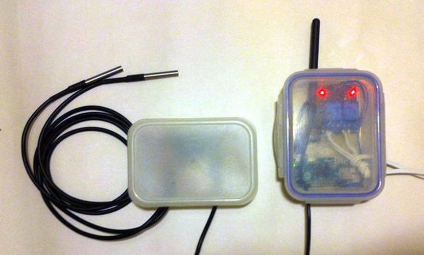 Monitor de temperatura con raspberry