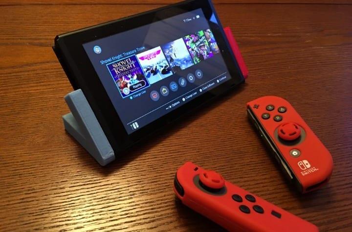Soporte para Nintendo Swtich.