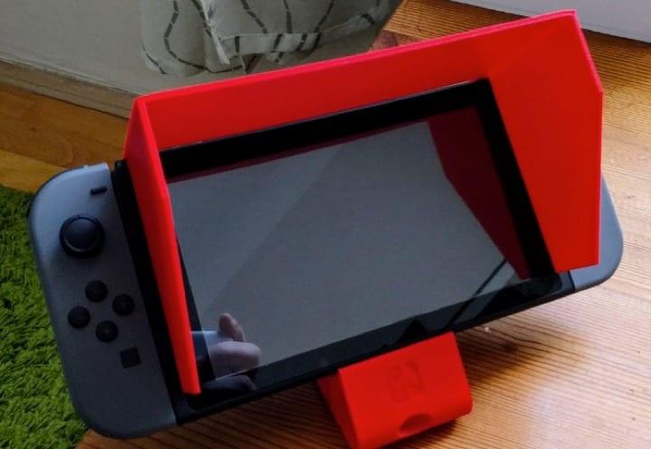 Protector solar para Nintendo Switch.