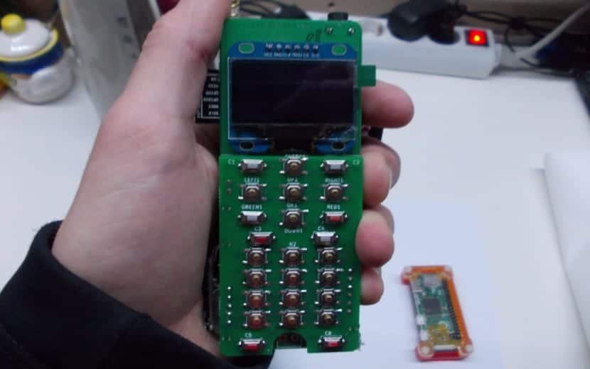 ZeroPhone, un móvil casero
