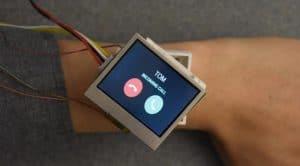 Smartwatch con Arduino Due para girar pantalla
