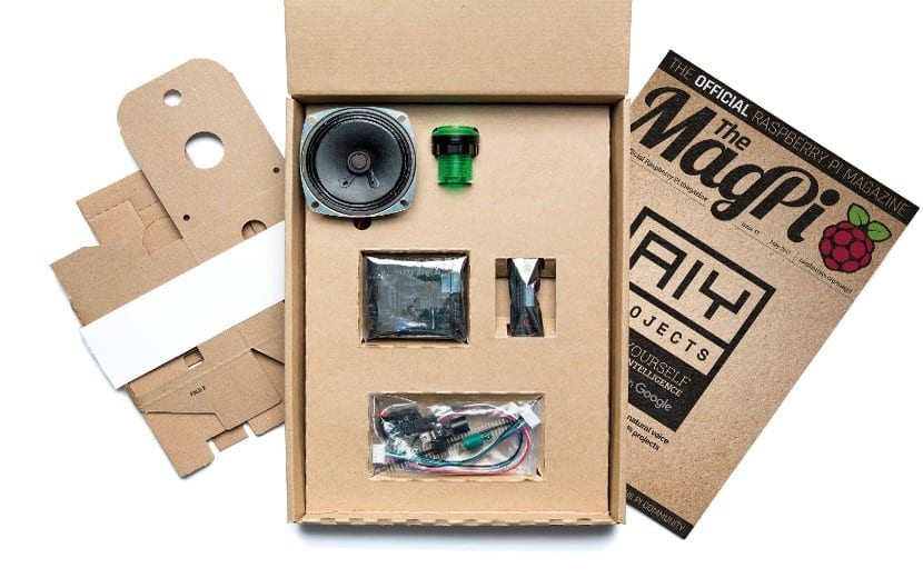 VoiceKit de Google y Raspberry Pi.
