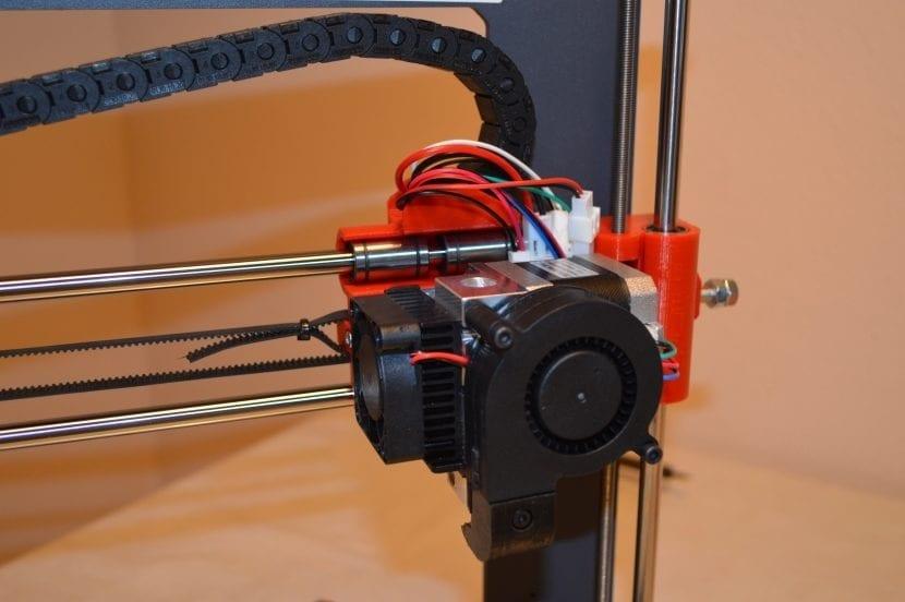 Extrusor Impresora en KIT BQ HEPHESTOS