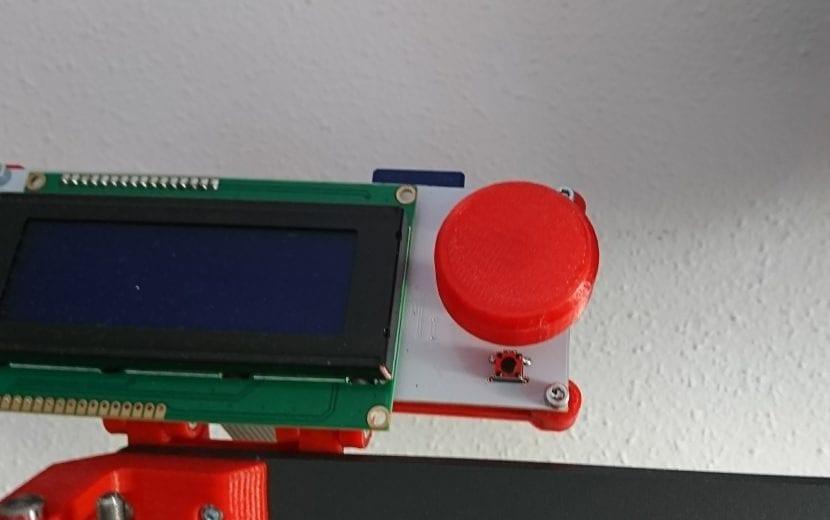 Impresora 3D en KIT BQ HEPHESTOS detalle mejora