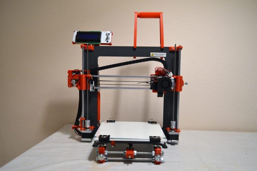 Impresora 3D en KIT BQ HEPHESTOS montada