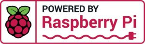 Logotipo de Raspberry Pi, Powered by Raspberry Pi certifica la originalidad