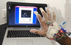 guantes táctiles con Arduino Nano