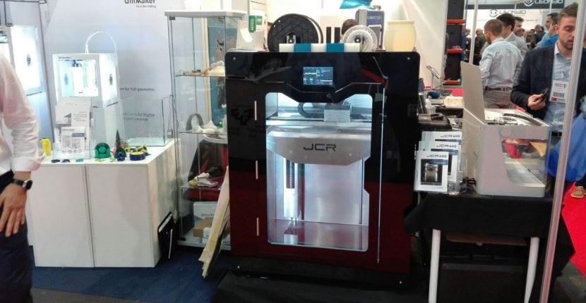 impresora JCR del Grupo Sicnova