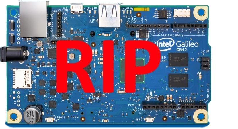 Intel deja de vender sus productos Joule Galileo y Edison