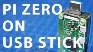 Pendrive con Raspberry Pi Zero