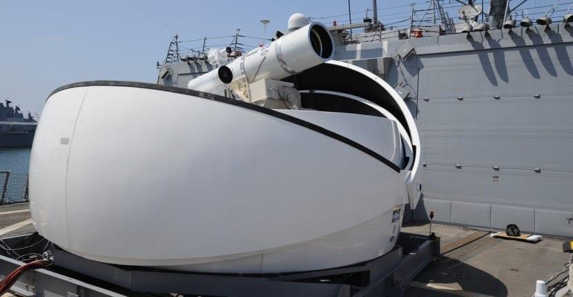 láser de la Armada de Estados Unidos